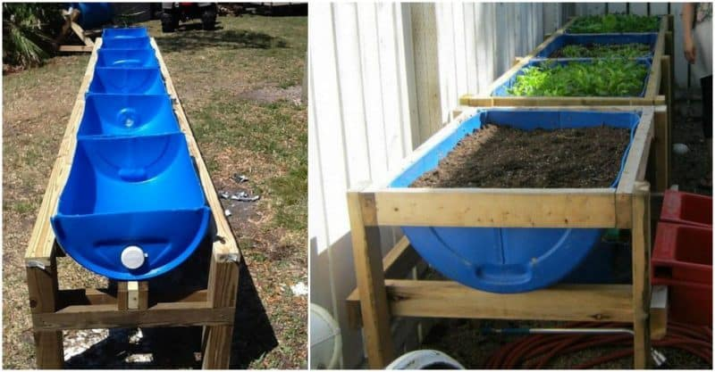 Elegant Drums Can Be Great For Building Raised Garden Beds. If You Happened To Have  Some Barrel Drums Around Collecting Dust, This Might Be A Good Project For  You.
